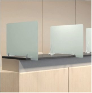 privacy wing panels - social distancing office products